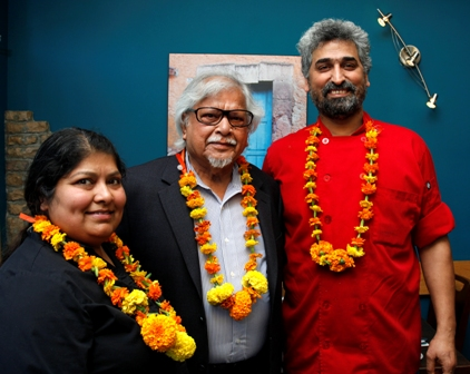 Owners of Guru's Restaurant