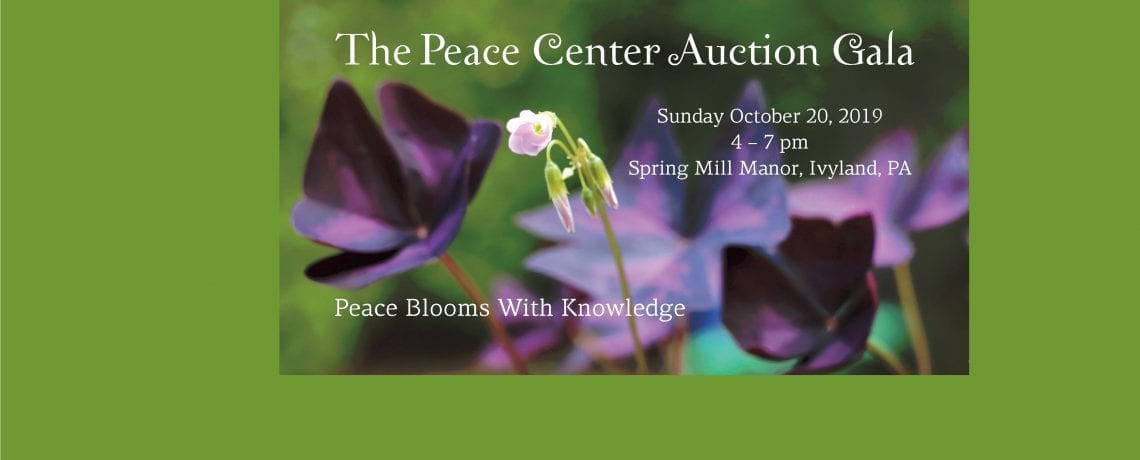 10/20 – Peace Center Auction Gala