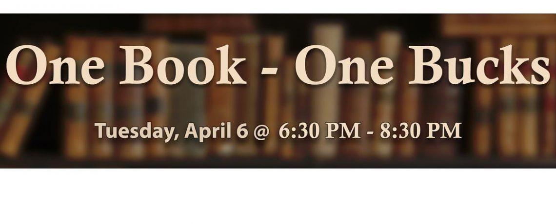 04/06 – One Book – One Bucks: Life in a Jar