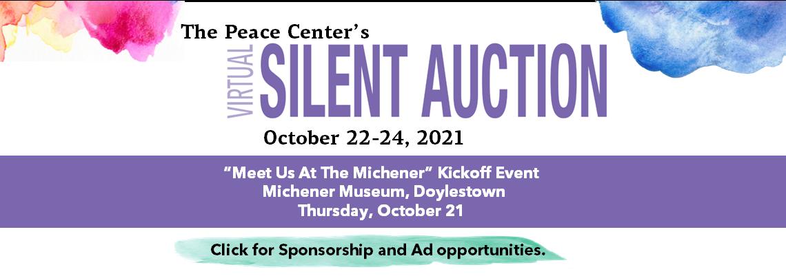 2021 Peace Center Virtual Auction